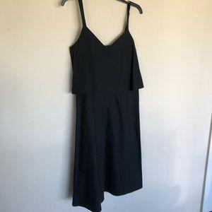 Lafayette 148 Little Black Dress Sleveless Strappy